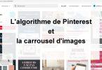 algorithme et carrousel Pinterest