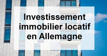 investissement locatif en Allemagne