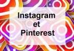 Instagram et pinterest