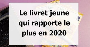 meilleur livret jeune en 2020